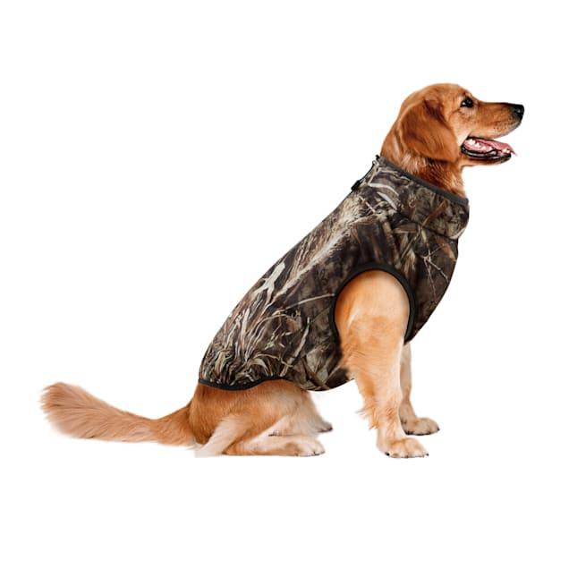 Reversible Padded Poly Coat w/Peachskin Lining Reversible Zip Front Jacket, Large - Carousel image #1