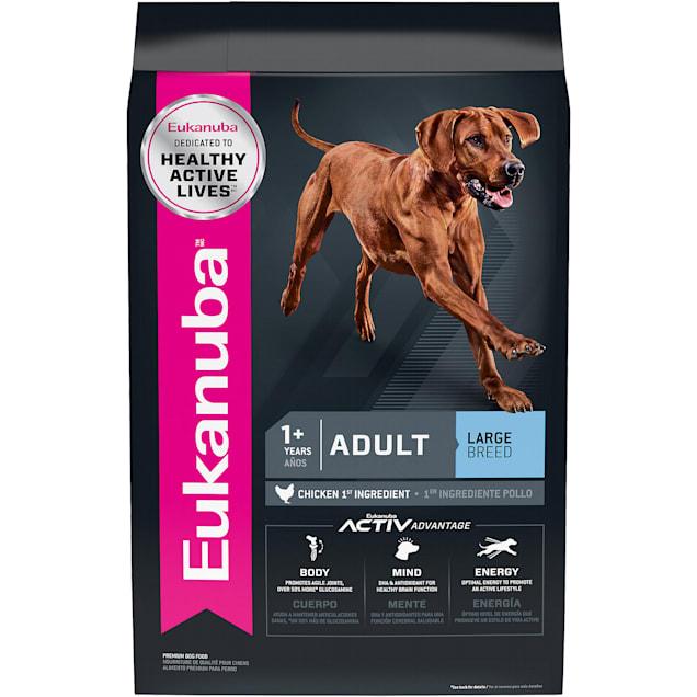 Eukanuba Adult Large Breed Chicken Flavor Dry Dog Food, 33 lbs. - Carousel image #1