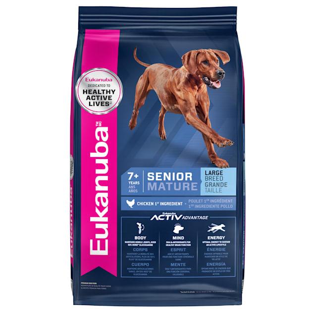 Eukanuba Senior Large Breed Chicken Flavor Dry Dog Food, 30 lbs. - Carousel image #1