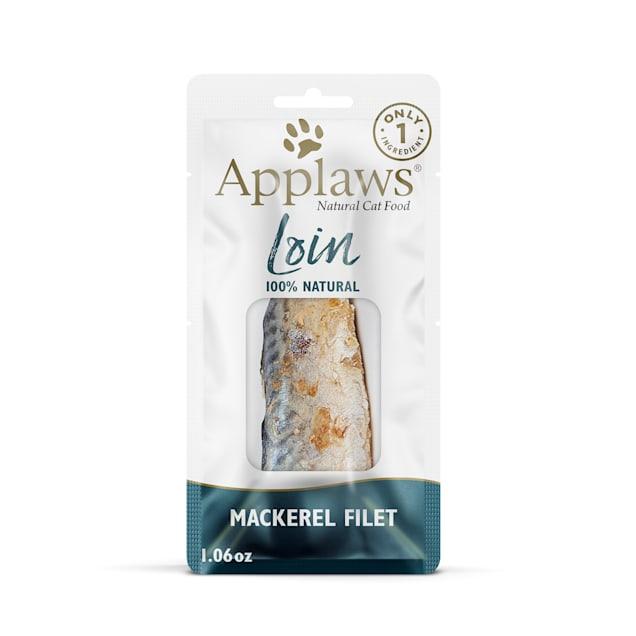 Applaws Natural Whole Mackerel Loin Cat Treat, 1.06 oz. - Carousel image #1