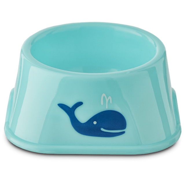 You & Me Plastic Whale Print Bowl - Carousel image #1