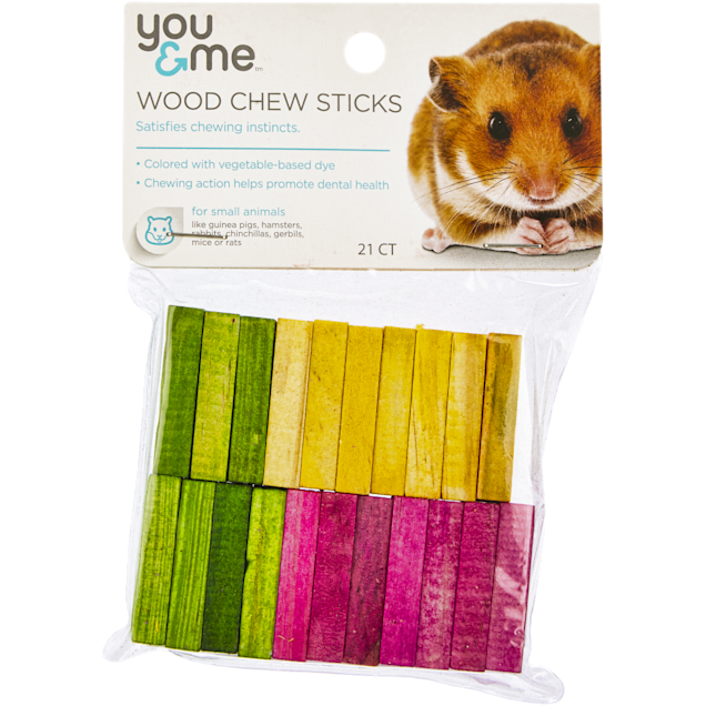 You & Me Wood Chew Sticks for Small Animals, 30 g. - Carousel image #1