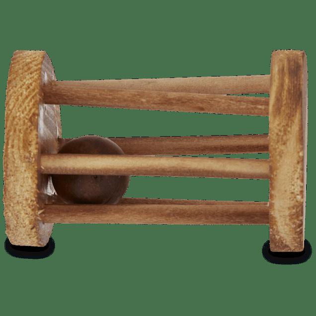 You & Me Wood Wheel with Ball - Carousel image #1