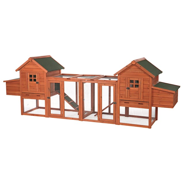 TRIXIE Pet Products Chicken Coop Duplex with Outdoor Run - Carousel image #1