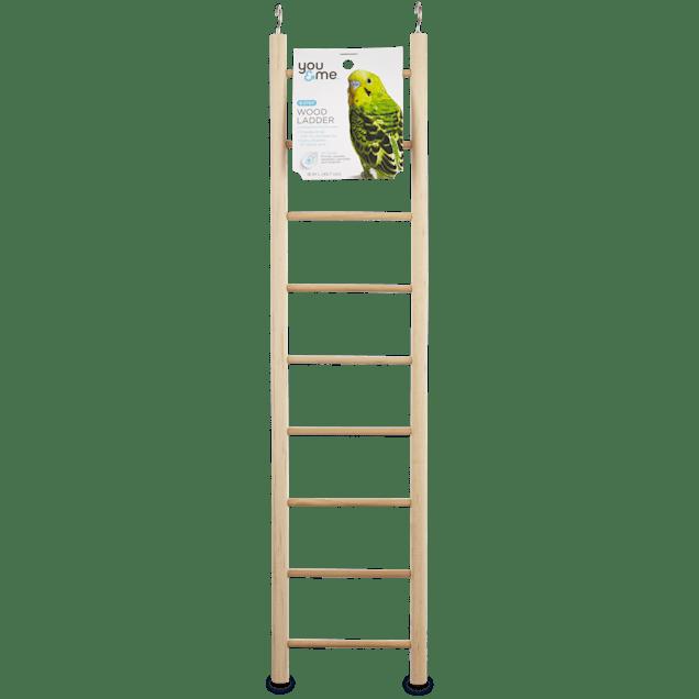 "You & Me Bird 9-Step Wood Bird Ladder, 18"" L - Carousel image #1"