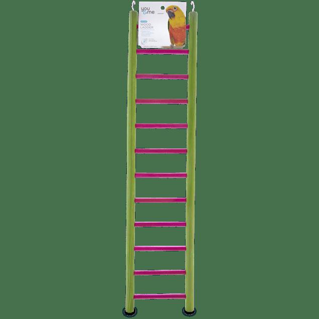 "You & Me Bird 12-Step Wood Bird Ladder, 23.5"" L - Carousel image #1"