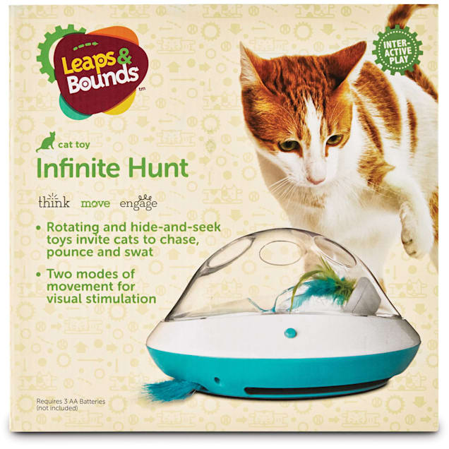 Leaps & Bounds Electric Play Dome for Cats - Carousel image #1