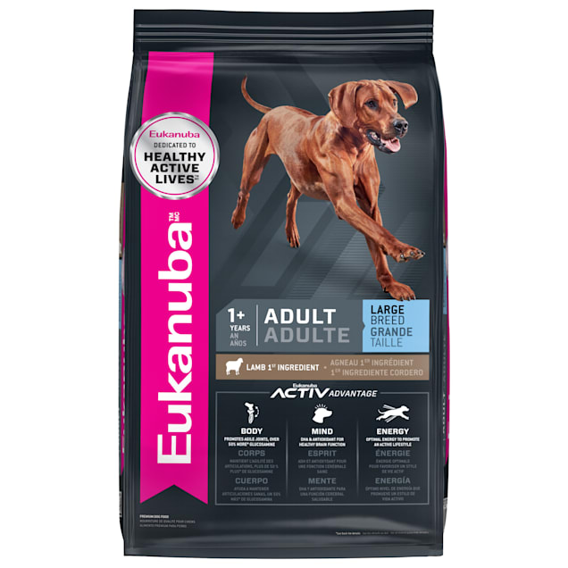 Eukanuba Adult Large Breed Lamb 1st Ingredient Adult Dry Dog Food, 30 lbs. - Carousel image #1