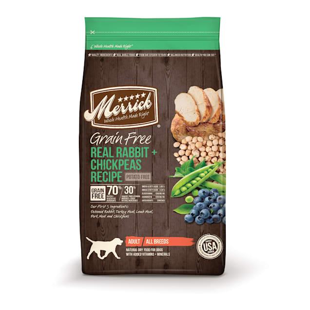 Merrick Grain Free Real Rabbit + Chickpeas Dry Dog Food, 12 lbs. - Carousel image #1