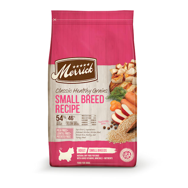 Merrick Classic Healthy Grains Small Breed Recipe Dry Dog Food, 4 lbs. - Carousel image #1