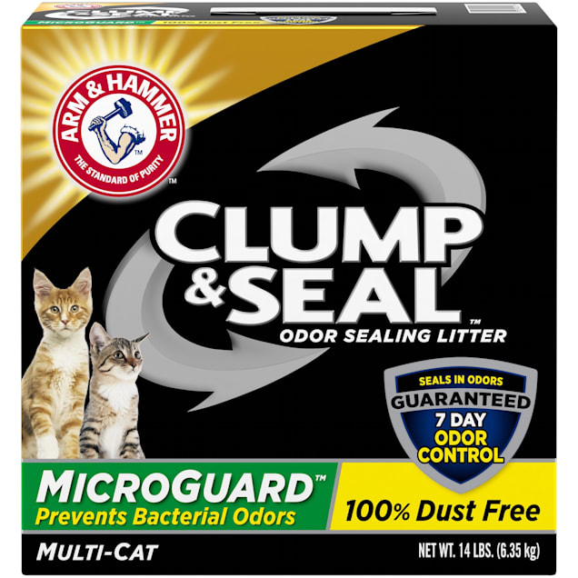 CLUMP & SEAL MICROGUARD CAT LITTER, 14 lbs - Carousel image #1