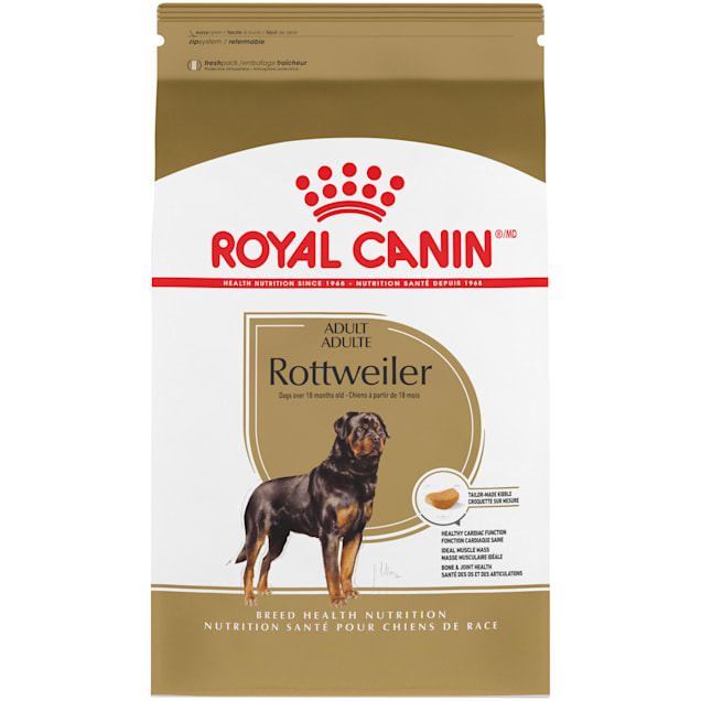 Royal Canin Breed Health Nutrition Rottweiler Adult Dry Dog Food, 30 lbs. - Carousel image #1