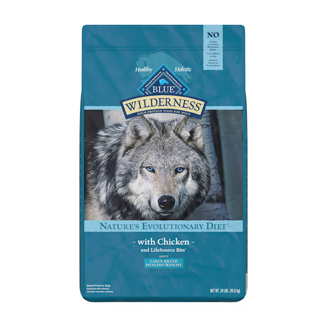 Blue Buffalo Blue Wilderness Healthy Weight Chicken Recipe Adult Large Breed Dog Food, 24 lbs. - Carousel image #1