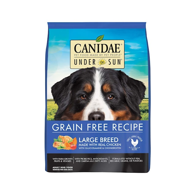 CANIDAE Under The Sun Grain Free Large Breed with Chicken Adult Dry Dog Food, 25 lbs. - Carousel image #1