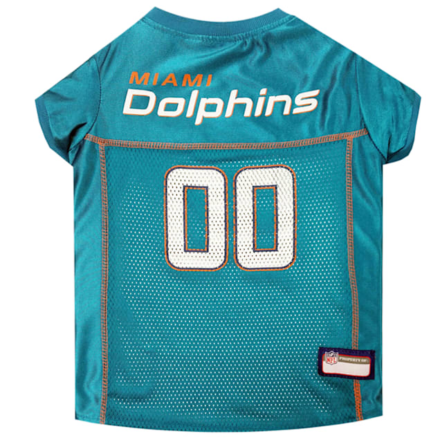 Pets First Miami Dolphins NFL Mesh Pet Jersey, X-Small - Carousel image #1