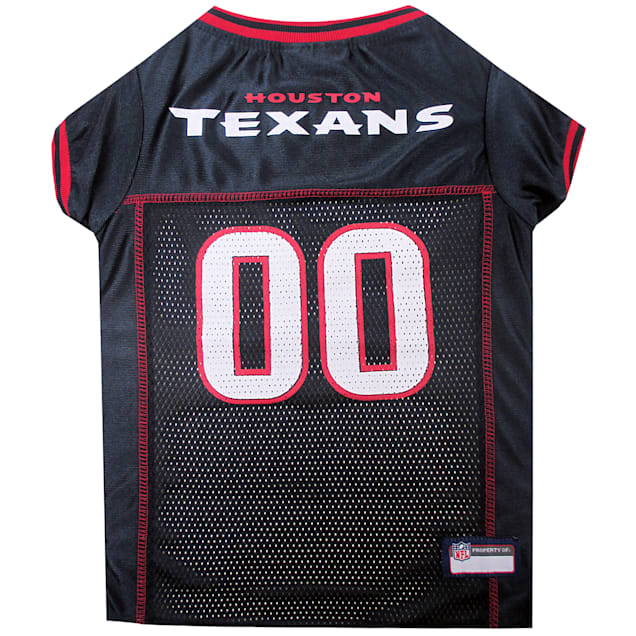 Pets First Houston Texans NFL Mesh Pet Jersey, X-Small - Carousel image #1