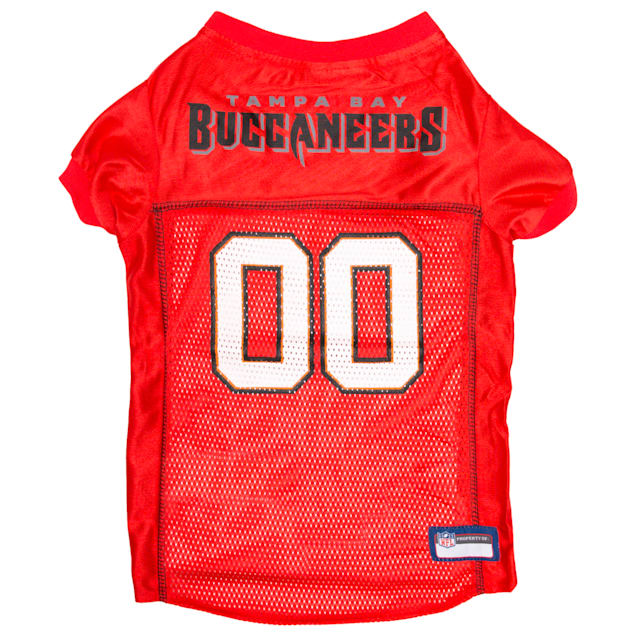 Pets First Tampa Bay Buccaneers NFL Mesh Pet Jersey, X-Small - Carousel image #1
