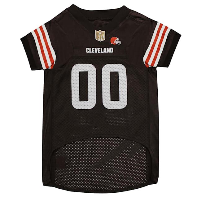 Pets First Cleveland Browns NFL Mesh Pet Jersey, X-Small