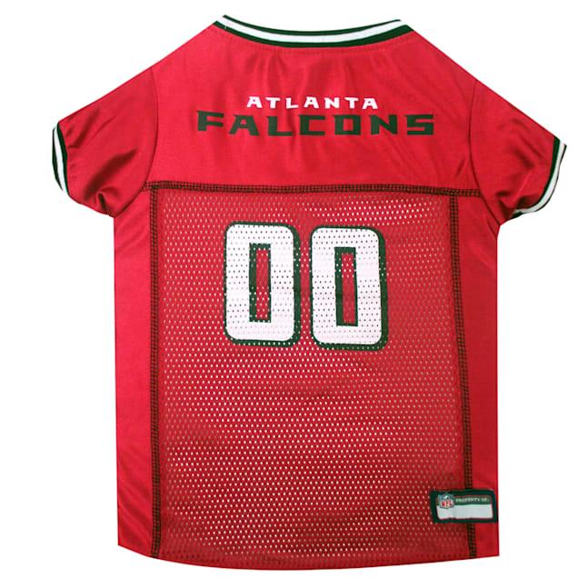 Pets First Atlanta Falcons NFL Mesh Pet Jersey, X-Small - Carousel image #1
