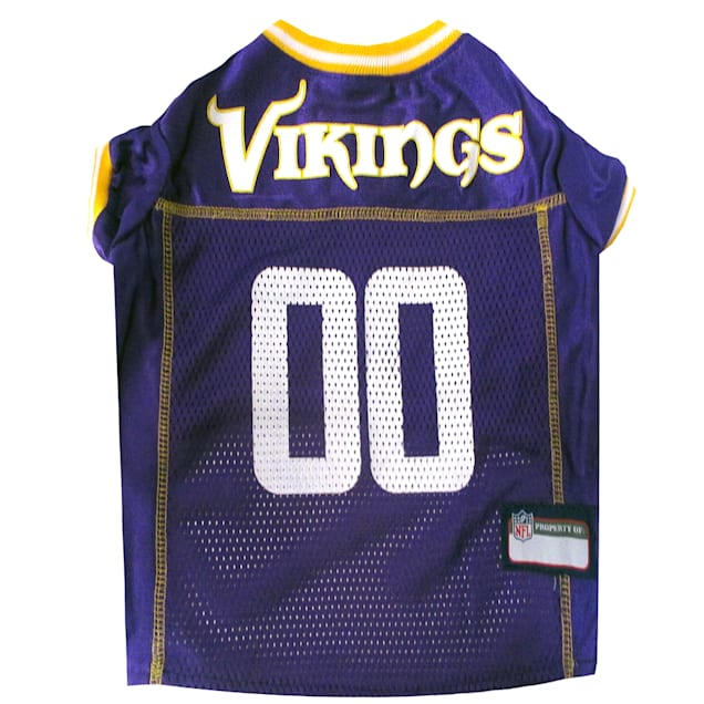 Pets First Minnesota Vikings NFL Mesh Pet Jersey, X-Small - Carousel image #1