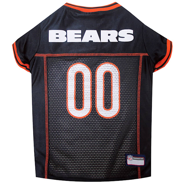 Pets First Chicago Bears NFL Mesh Pet Jersey, X-Small - Carousel image #1