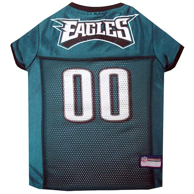 Pets First Philadelphia Eagles NFL Mesh Pet Jersey, X-Small - Carousel image #1