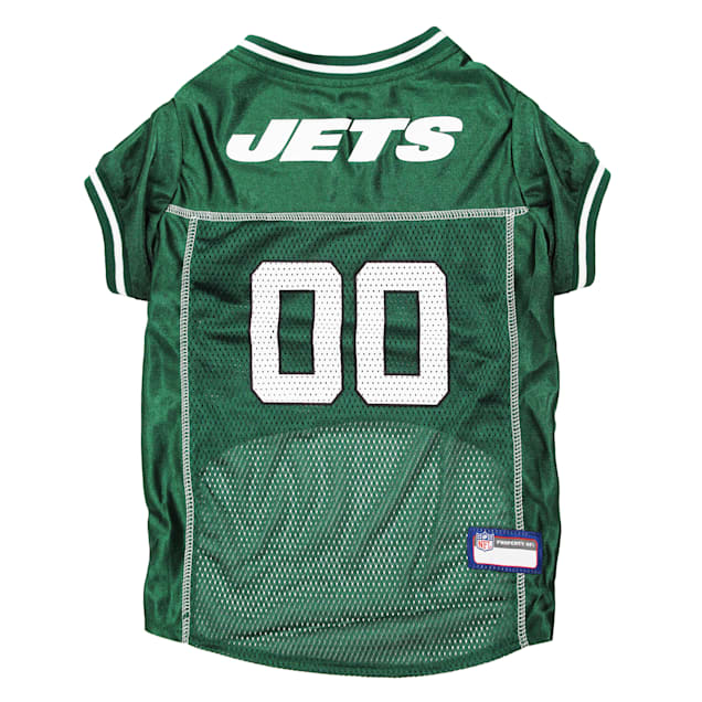 Pets First New York Jets NFL Mesh Jersey, X-Small - Carousel image #1