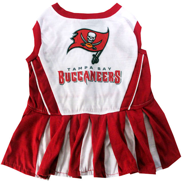 Pets First Tampa Bay Buccaneers NFL Cheerleader Outfit, X-Small - Carousel image #1