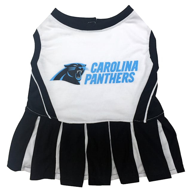 Pets First Carolina Panthers NFL Cheerleader Outfit, X-Small - Carousel image #1
