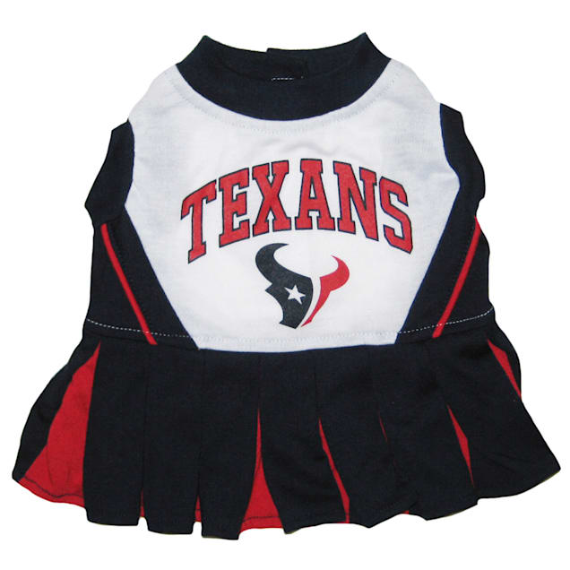 Pets First Houston Texans NFL Cheerleader Outfit, X-Small - Carousel image #1