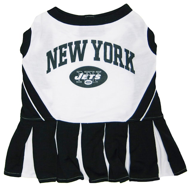 Pets First New York Jets NFL Cheerleader Outfit, X-Small - Carousel image #1