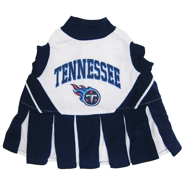 Pets First Tennessee Titans NFL Cheerleader Outfit, X-Small - Carousel image #1