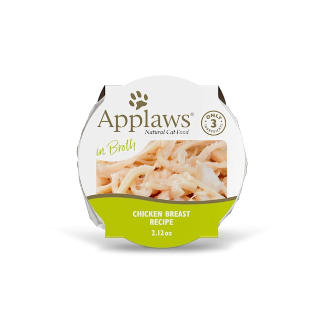 Applaws Natural Chicken Breast in Broth Wet Cat Food, 2.12 oz. - Carousel image #1
