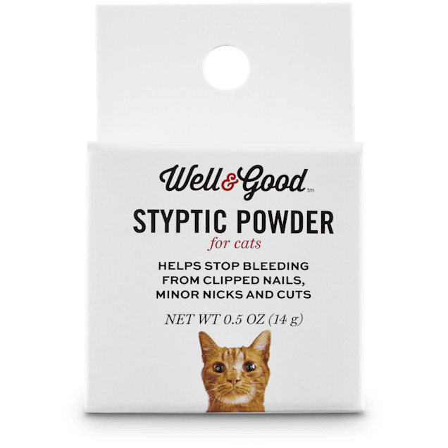 Well & Good Styptic Powder for Cats, 0.5 OZ - Carousel image #1