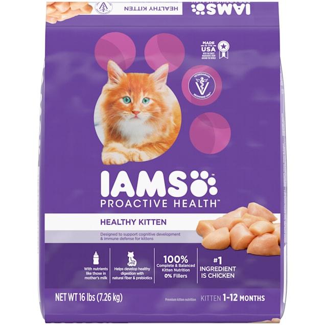 Iams ProActive Health Chicken Dry Kitten Food, 16 lbs. - Carousel image #1