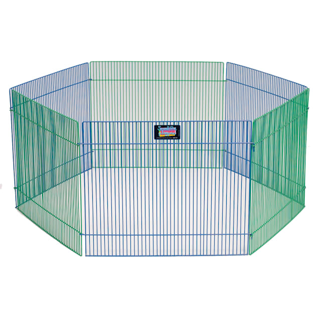 """Midwest Critterville Small Pets Playpen, 15"""" H - Carousel image #1"""