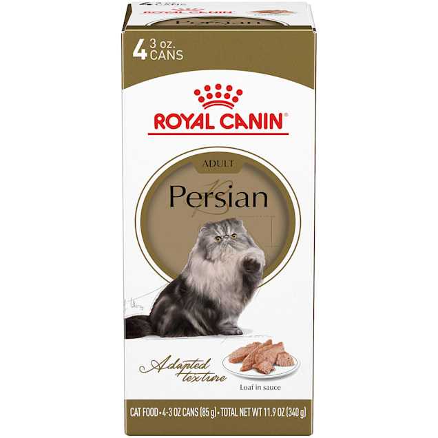 Royal Canin Persian Breed Loaf in Sauce Adult Wet Cat Food Multipack, 3 oz., Count of 4 - Carousel image #1