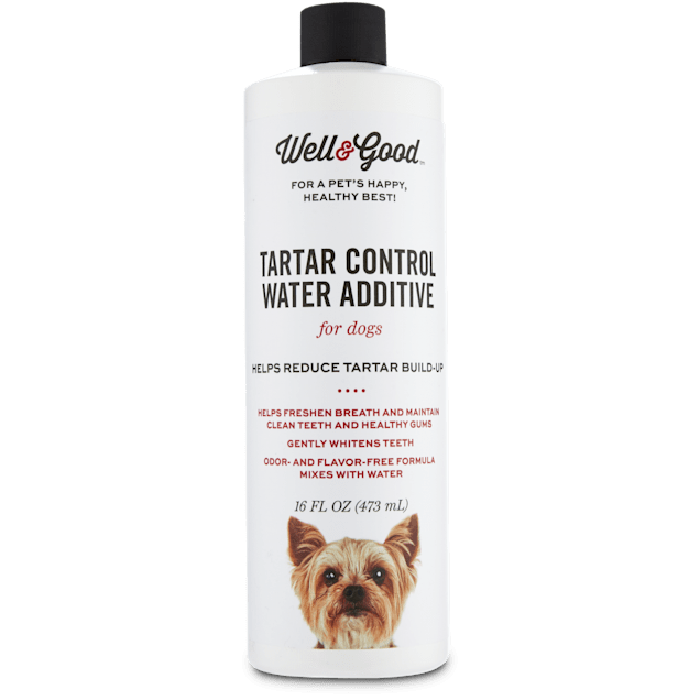 Well & Good Tartar Control Water Additive for Dogs, 16 fl. oz. - Carousel image #1