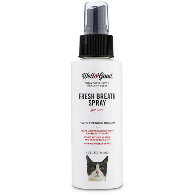 Well & Good Fresh Breath Spray for Cats, 4 fl. oz. - Carousel image #1