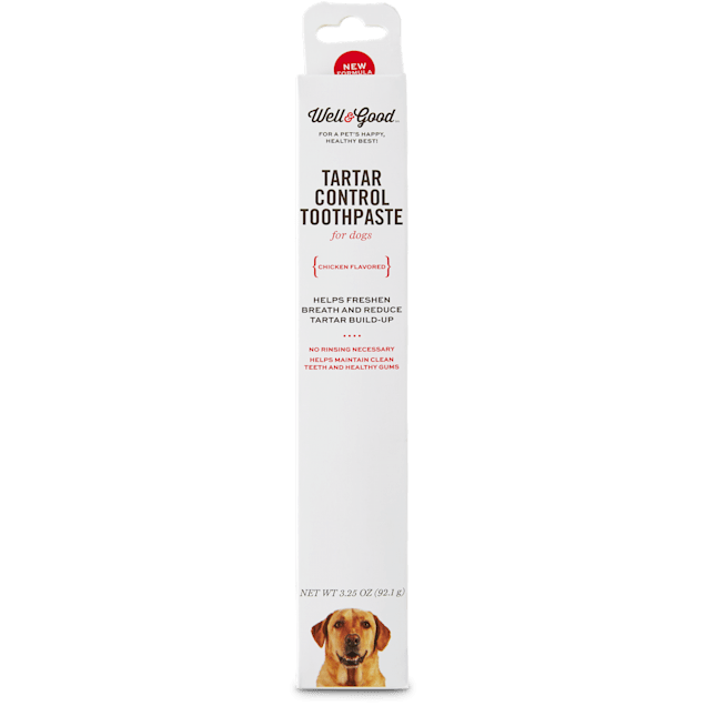 Well & Good Tartar Control Toothpaste for Dogs, Chicken Flavor - Carousel image #1