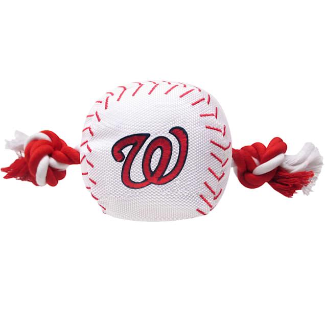 Pets First MLB Washington Nationals Baseball Toy, Large - Carousel image #1