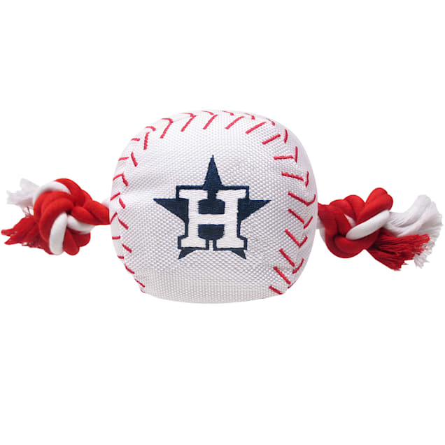 Pets First MLB Houston Astros Baseball Toy, Large - Carousel image #1