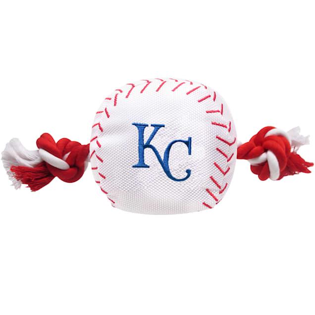 Pets First MLB Kansas City Royals Baseball Toy, Large - Carousel image #1