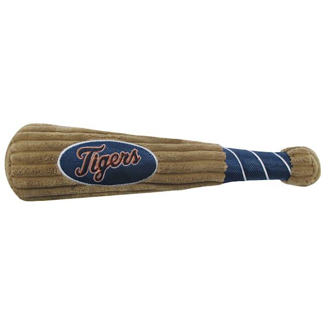 Pets First MLB Detroit Tigers Baseball Bat Toy, Large - Carousel image #1