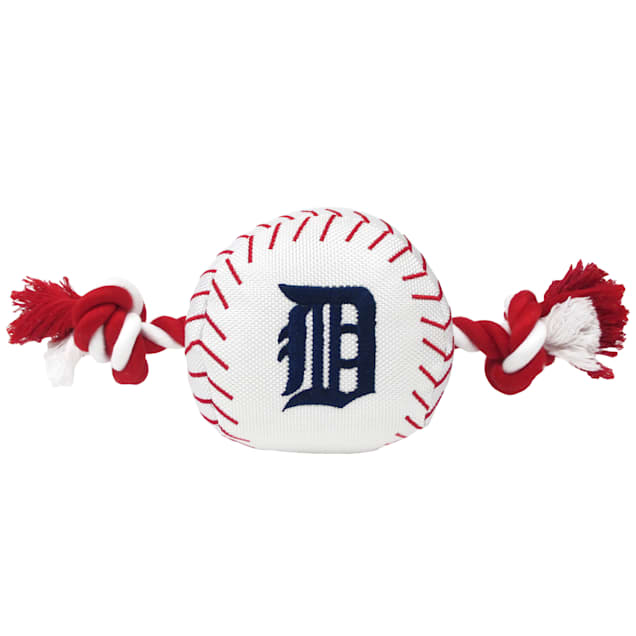 Pets First MLB Detroit Tigers Baseball Toy, Large - Carousel image #1
