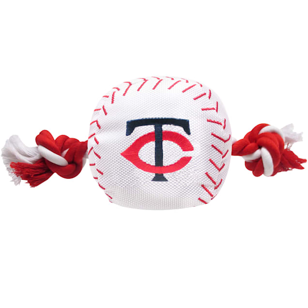 Pets First MLB Minnesota Twins Baseball Toy, Large - Carousel image #1