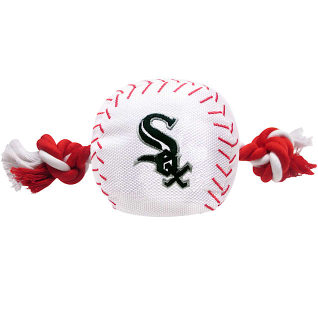 Pets First MLB Chicago White Sox Baseball Toy, Large - Carousel image #1