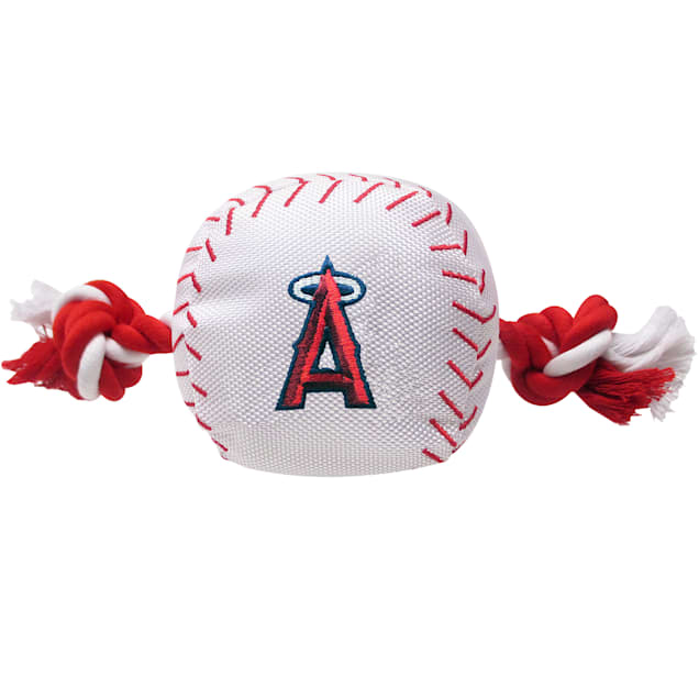 Pets First MLB Los Angeles Angels Baseball Toy, Large - Carousel image #1