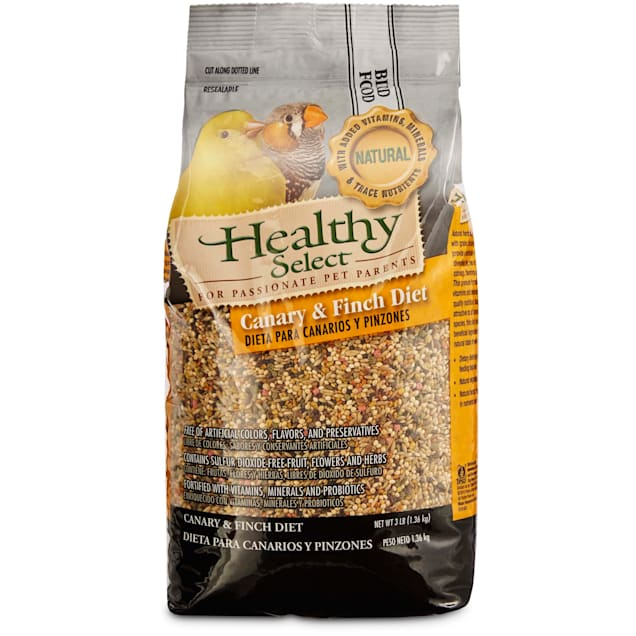 Healthy Select Canary & Finch Diet Bird Food, 3 lbs. - Carousel image #1