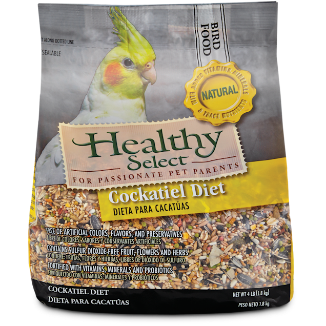 Healthy Select Natural Cockatiel Diet - Carousel image #1
